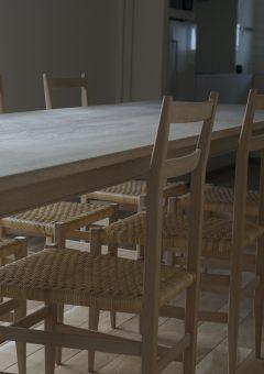 diningtable/diningchair/楢無垢材