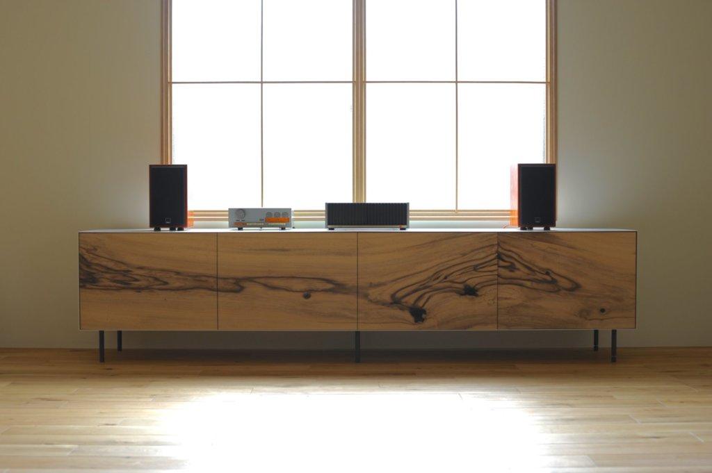 low cabinet|秋友家具製作室